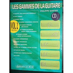 Les Gammes de la guitare Volume 2 (+CD) - Ganter