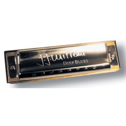 Hohner JJ Milteau Deep Blues - La - Harmonica Diatonique
