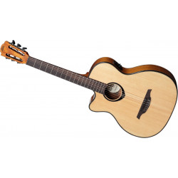 Guitare classique électro gaucher Lâg TNL66ACE