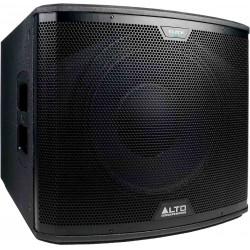 Alto Professional Black 15S -Subwoofer Actif amplifié 1200w