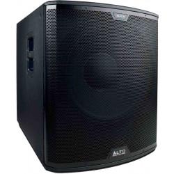 Alto Professional Black 18S -Subwoofer Actif amplifié 1200w