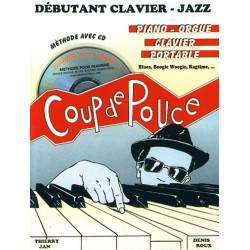 Coup de Pouce Débutant Clavier Jazz Vol. 2 - Roux D. (+ CD)