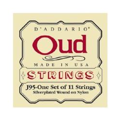 D'Addario J95 - Jeu de cordes Oud