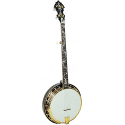 Banjo Bluegrass Orange Blossom Gold Tone OB-300 (avec étui)