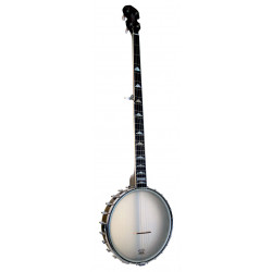 Banjo Openback Gold Tone White Ladye WL-250 Long Neck
