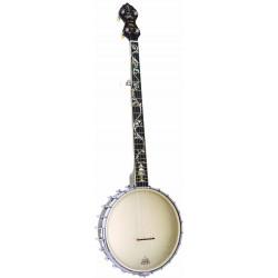Banjo Openback Gold Tone White Ladye WL-250 plus