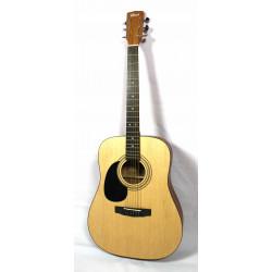 Guitare acoustique gaucher Cort AD810LH