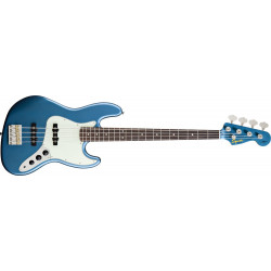 James Johnston Jazz Bass Squier Lake Placid Blue