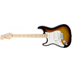 Fender Standard Stratocaster gaucher - touche érable - Brown Sunburst