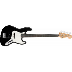 Fender Standard Jazz Bass Fretless Black touche palissandre