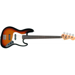 Fender Standard Jazz Bass Fretless Brown Sunburst touche palissandre