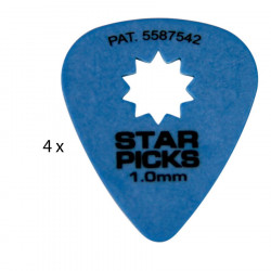 4 Mediators Everly Star Picks - 1,00 mm bleu