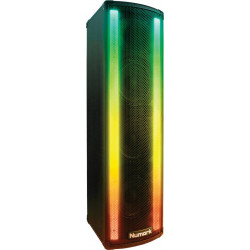 Numark Lightwave - Enceinte active 100W Bandeaux LED
