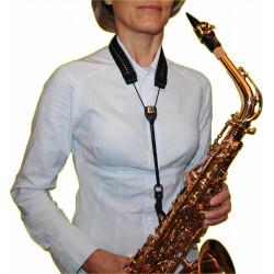 Sangle Saxophone Soprano, Alto ou Tenor BG S80GSH Glam - crochet à pompe