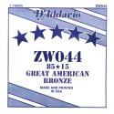 Corde au détail D'Addario pour guitare acoustique 044 85/15 Bronze - ZW044