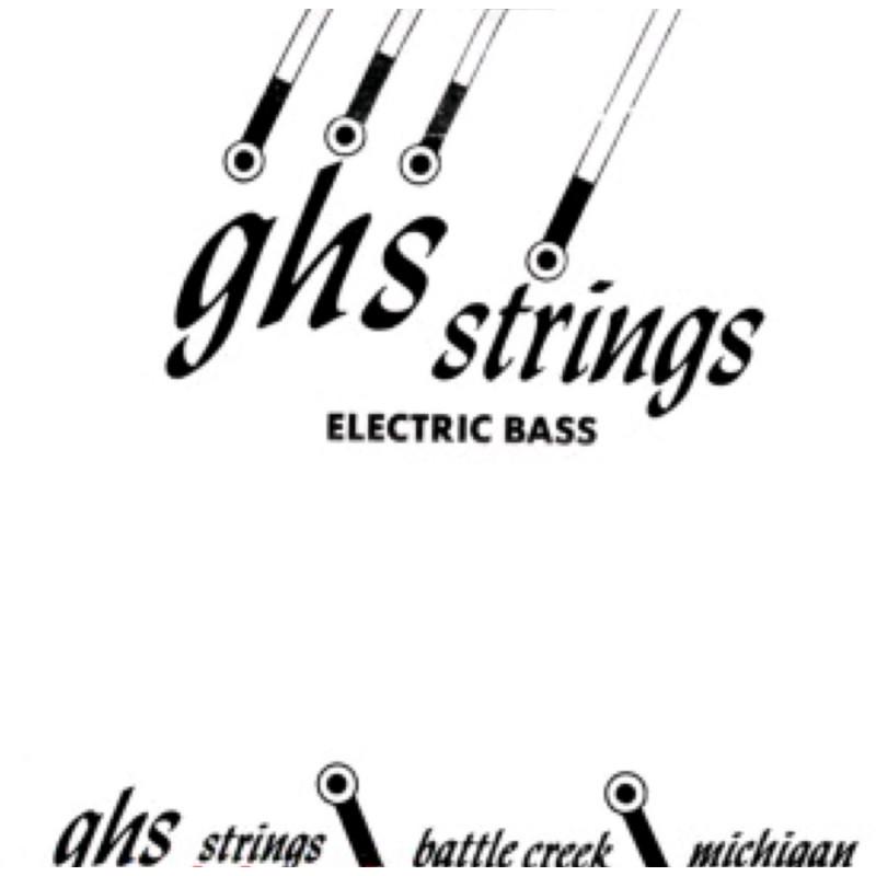 Corde au détail pour guitare basse - 60 - GHS DYB060