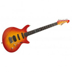 Lâg Jet 1000 Standard Red Sunburst - Guitare électrique