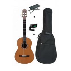 Pack Prodipe PRIMERA 3/4 - Guitare Classique + housse + accordeur + repose pied
