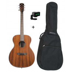 Pack Prodipe SA27 MHS - Guitare acoustique auditorium +housse+accordeur