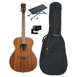 Pack Prodipe SA27 MHS - Guitare acoustique auditorium +housse+accordeur+repose pied