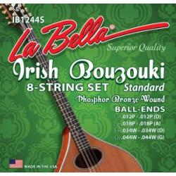 Labella IB1244S - Jeu bouzouki irlandais la bella standard