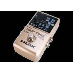 Nux  LOOPCORE-DELUXE - Pédale looper & boîte à rythmes + pédalier 2 voies