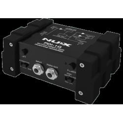 Nux  PDI1G - Boîte de direct active pour guitare et basse avec simulateur de baflle