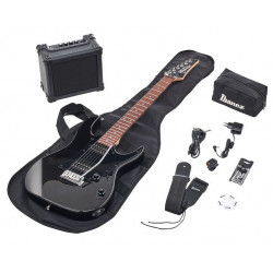 Ibanez IJRX20-BKN - Pack guitare électrique Jumpstart - Black Night