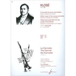A La Portee Du Jeune Clarinettiste Volume 3 - Klose