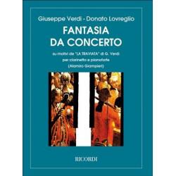 Fantasia da concerto su motivi della Traviata - Méthode de clarinette et piano