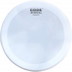 """Code Drumheads BSIGSM22 - Peau de frappe Signal Smooth grosse caisse - 22"""""""