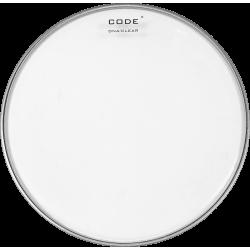 "Code Drumheads DNACL12 - Peau de tom DNA transparente - 12"""