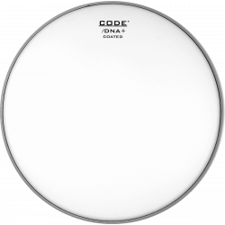 "Code Drumheads  DNACT13 - Peau de tom DNA sablée - 13"""