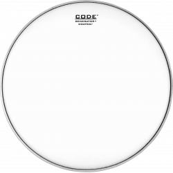 "Code Drumheads GENCT12 - Peau de tom Generator sablée - 12"""