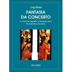 Fantasia da concerto su motivi del Rigoletto - Méthode de clarinette et piano