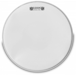 Code Drumheads STERCT13 - Peau caisse claire Sterling sablée - 13""