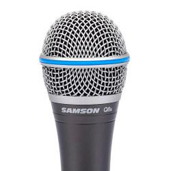 Samson Q8x - Microphone dynamique supercardioïde (+ étui)