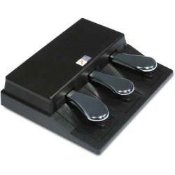 Studiologic SLP3-D - Pédale triple pour SL88 - 2 switch & 1 contrôle continu - 1x jack 6.35 stéréo (2m)
