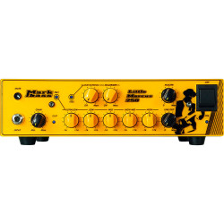 Markbass Little Marcus 250 - Tête d'ampli basse signature Marcus Miller - façade jaune