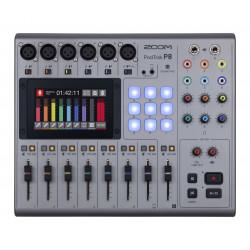 Zoom P8 - Console de mixage podcast portable