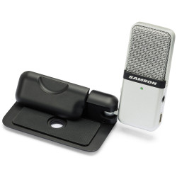 Samson GO MIC - Microphone à condensateur USB bidirectionnel portatif - interface audio