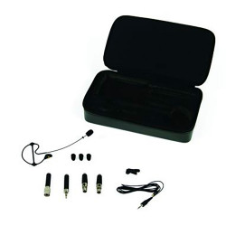 Samson SE50B - Microphone oreillette à condensateur omnidirectionnel - noir (+ étui)