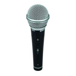 Samson R21S - Microphone dynamique cardioïde - interrupteur - avec pince, câble XLR-XLR et étui rigide