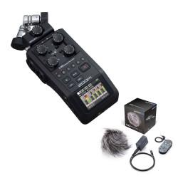 Zoom H6-BLK + pack Accessoires APH-6 -  Enregistreur numérique 6 pistes