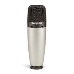 Samson C03 - Microphone à condensateur directivité sélectionnable (+ housse)
