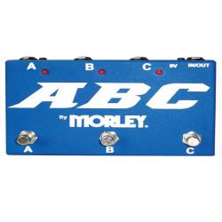 Morley ABC SELECTOR/COMBINER SWITCH - Pédale de routing - bleue