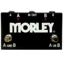 Morley ABY SELECTOR / COMBINER - Pédale de routing - noire