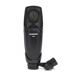 Samson CL8a - Microphone à condensateur cardioïde, omni et figure en 8 - noire