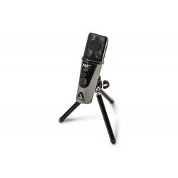 Apogee Electronics Inc. MIC PLUS - Microphone à condensateur USB cardioide avec sortie casque