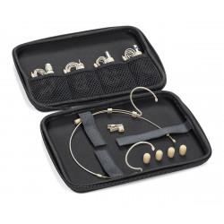 Samson DE50X - Microphone casque à électret omnidirectionnel - beige (+ étui)